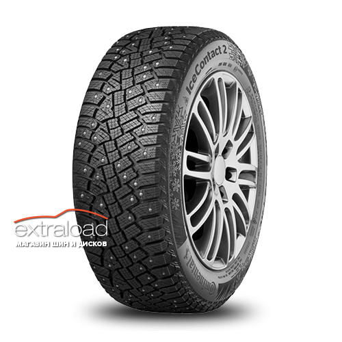 Continental IceContact 2 SUV 265/50 R19 110T XL (шип.)